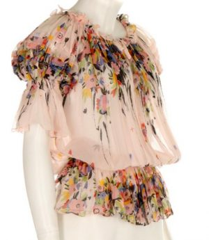 One of Ossie's dresses in Celia's collection sold by Kerry Taylor auctions in their Passion for Fashion sale June 23rd 2015