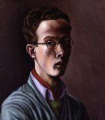 Denton Welch's self portrait in National Portrait Gallery London