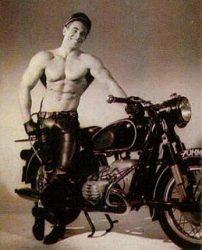 Scott of London's Biker