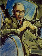 Maynard Keynes by Roy De Maistre