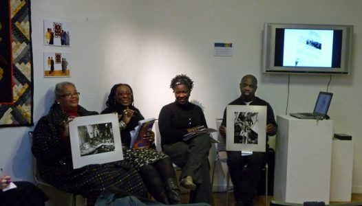 Black artists pannel