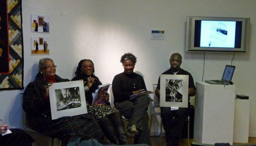 Black artists pannel