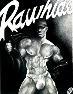 Poster for Rawhide in New York