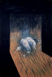 Man Kneeling in Grass, 1952 by Francis Bacon