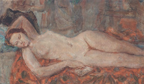 dame ethel walker reclining nude