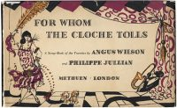 Julian's cover design for Wilson